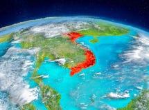Vietnam på jord Royaltyfria Foton