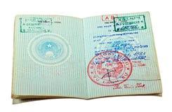 Vietnam-Paß. Lizenzfreie Stockfotografie