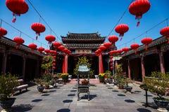 Free Vietnam Pagoda And Lanterns Stock Photos - 175242533