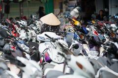 Vietnam parkeringsplats Fotografering för Bildbyråer