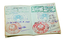 Vietnam  passport Royalty Free Stock Images