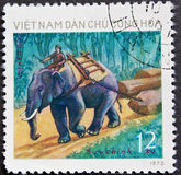 Vietnam Post stamp Royalty Free Stock Images