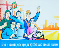 Vietnam poster Stock Images