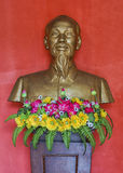 Vietnam Quang Binh Province: Bust of Ho Chi Minh. Stock Image