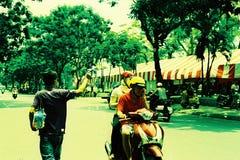 Vietnam-Reise Stockfoto