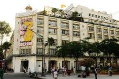 Vietnam: Rex Hotel en el citynext de Ho Chi Ming a la ópera foto de archivo libre de regalías