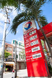 Vietnam's gas station Stock Image