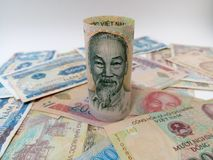 Vietnam& x27; s-Geld Lizenzfreie Stockbilder