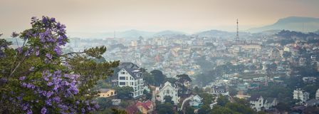 Free Vietnam`s Littel Paris Da Lat Cityscape. Beautiful View Of Dalat, Vietnam. Panorama Stock Images - 155121634