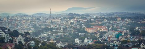 Free Vietnam`s Littel Paris Da Lat Cityscape. Beautiful View Of Dalat, Vietnam. Panorama Royalty Free Stock Images - 155727809
