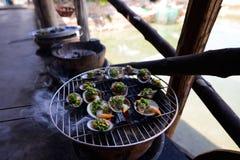 Vietnam seafood , Ninh Thuan Royalty Free Stock Image