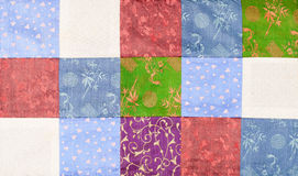 Vietnam silk patchwork Stock Photography