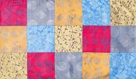 Vietnam silk patchwork Stock Image