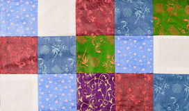 Vietnam silk patchwork Royalty Free Stock Photography