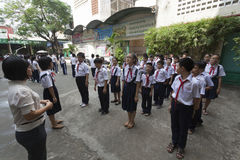 Vietnam skolor Arkivfoton
