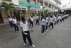 Vietnam skolor Royaltyfri Bild