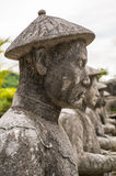 Vietnam stone warrior Royalty Free Stock Photo