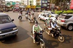 Vietnam-Straße Stockfoto