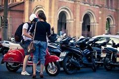 Vietnam-Straße Lizenzfreie Stockbilder