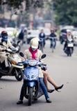 Vietnam-Straße Lizenzfreies Stockbild