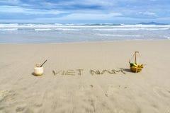 Vietnam-Strand Lizenzfreies Stockfoto
