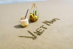 Vietnam-Strand Stockfoto