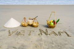 Vietnam-Strand Lizenzfreies Stockbild
