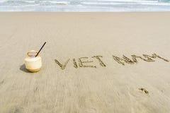 Vietnam strand Royaltyfri Foto