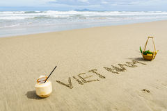 Vietnam-Strand Lizenzfreie Stockfotos