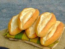 Vietnam street baguette. Vietnam street baked baguette stall Royalty Free Stock Photo