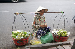 Vietnam Street Hawkers Stock Image