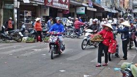 Vietnam street stock video footage
