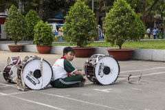 Vietnam student Stock Image