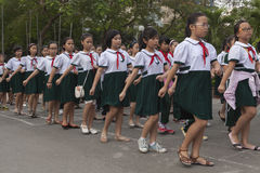 Vietnam students Royalty Free Stock Photo