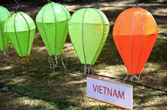 Vietnam style lantern Royalty Free Stock Images