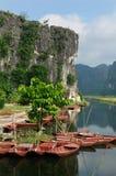 Vietnam - Tam Coc Natioanl Park Stock Image