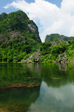 Vietnam - Tam Coc Natioanl Park Stock Photo