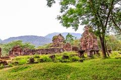 Vietnam tempel Arkivbild
