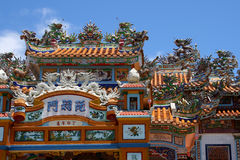 Vietnam temple Stock Photo