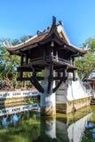Vietnam temple. Chua mot cot at Hanoi, Vietnam Stock Images