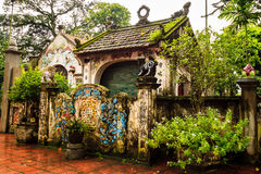 Vietnam temple. Temple at the Hanoi, Vietnam Stock Image