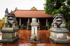 Vietnam temple. Temple at the Hanoi, Vietnam Stock Photo