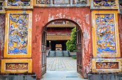 Vietnam temple. At Hue, Vietnam Royalty Free Stock Image