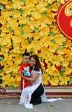 Vietnam Tet, Ho Chi Minh city in springtime Stock Photography