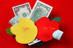 Vietnam Tet, red envelope, lucky money Royalty Free Stock Photo