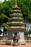 Vietnam - Thien Mu pagod Arkivbild