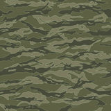 Vietnam Tiger stripe Camouflage seamless patterns Royalty Free Stock Images