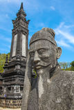 Vietnam - Tint - Khai Ding Tomb Stock Foto's