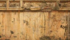 Vietnam, Tint: oude muur van de citadel royalty-vrije stock foto's