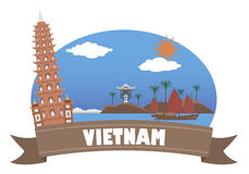 Vietnam. Tourism and Travel Royalty Free Stock Photography